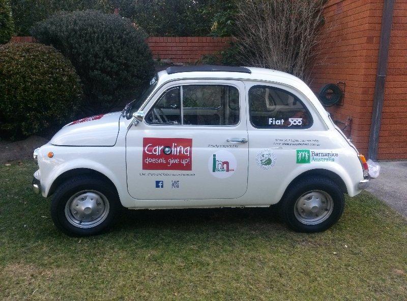 Fiat 500 Charity Run